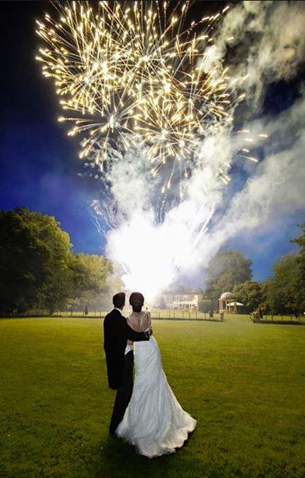 Chase Lane Fireworks Wedding Fireworks