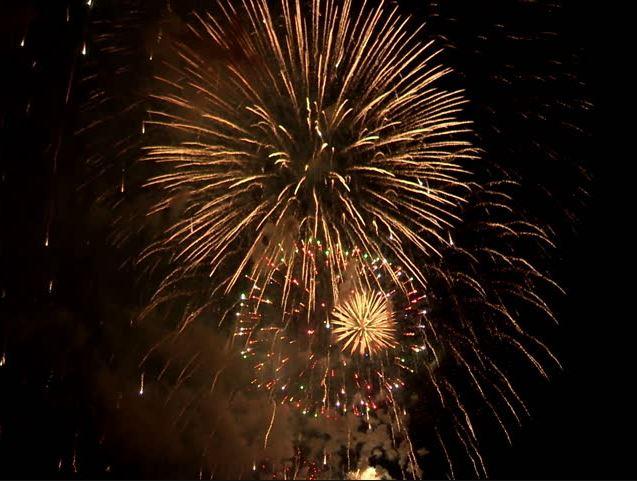 Chase Lane Fireworks Golden Wedding Fireworks