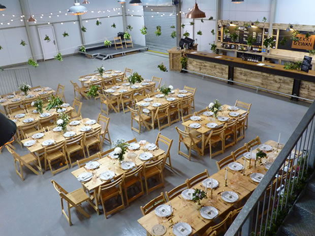 Hillside Brewery wedding venue