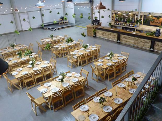 Hillside Brewery wedding venue