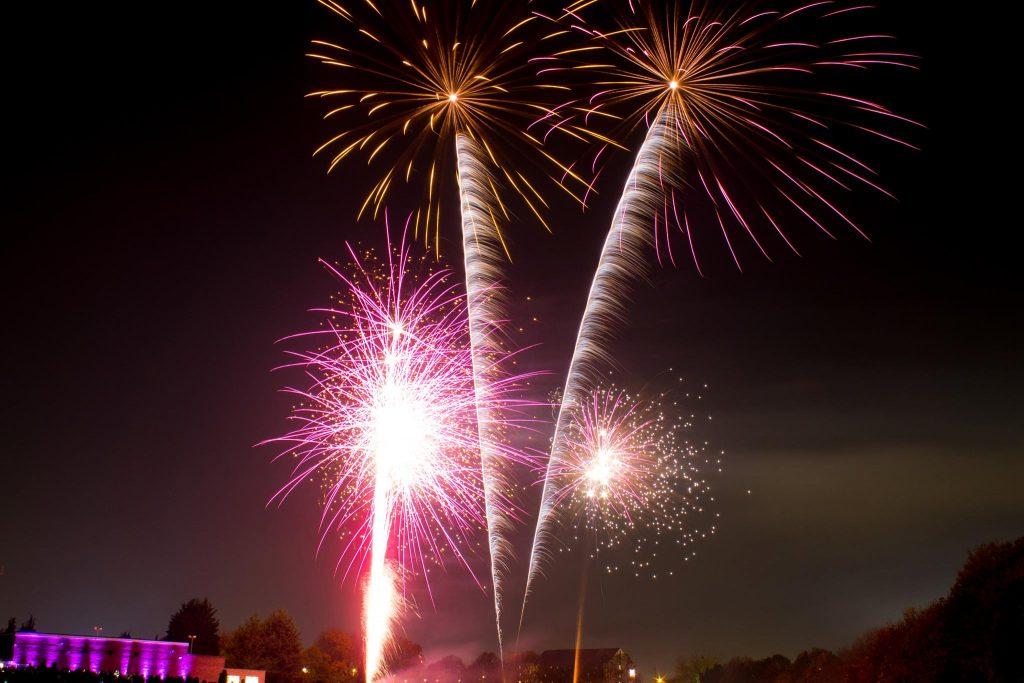corporate fireworks