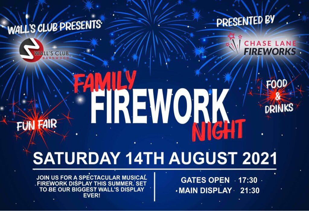 Summer Family Firework Night