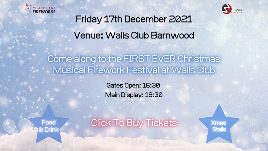 Walls Club Festive Fireworks